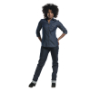 Chaud Devant Blouse dames blue denim xs, per stuk