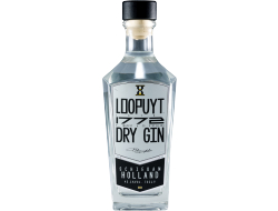 Loopuyt Dry gin 45,1%, fles 70 cl