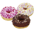 The Original Doony's Mini donuts assorti 22 gr per stuk, doos 90 stuks