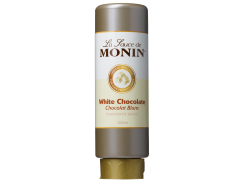 Topping witte chocolade, fles 500 ml