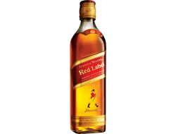 Johnnie Walker Scotch whisky red label 40% 5 cl per flesje, doos 12 flesjes