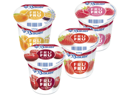 Magere vruchtenyoghurt assorti, tray 20 x 150 gr