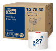 Tork Toiletpapier advanced compact roll auto shift 2-laags T6 100 mtr, doos 27 rollen