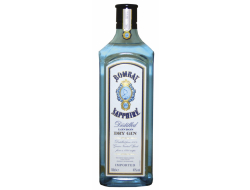 Bombay Sapphire Gin 40%, fles 70 cl