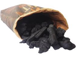 Houtskool quebracho, zak 15 kg