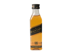 Whisky scotch black label 40%, doosje 12 flessen 5 cl