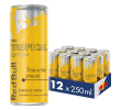 Red Bull Energy drink tropical edition single 25 cl per blik, tray 12 blikken