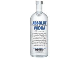 Absolut Wodka 40%, fles 1 ltr