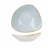 Churchill Bowl stonecast triangel duck egg 235 mm, doos 12 stuks