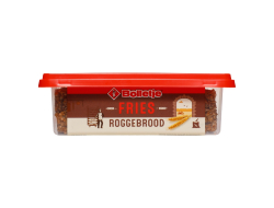 Roggebrood Fries 250 gr per pak, doos 12 pakken