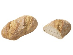 Molenaarsbrood wit brood rustiek farmers bread 600 gr per stuk, doos 12 stuks