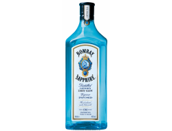 Bombay Sapphire Gin 40%, fles 1 ltr