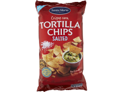 Tortilla chips naturel, zak 475 gr