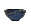 Churchill Bowl bit on the side blauw ripple 0,28 ltr 120x57 mm, doos 12 stuks