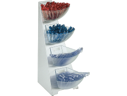 Multi rack 4 laags 19cm - 31cm - 53cm Doos 1 set
