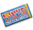 Tony's Chocolonely Pure chocolade 180 gr per reep, doos 15 repen
