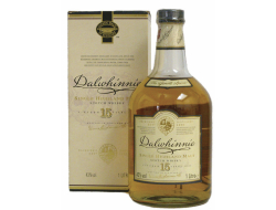 Dalwhinnie Whisky highland malt 15 jaar 43%, fles 70 cl