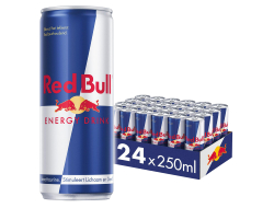 Energy drink single 25 cl per blik, tray 24 blikken