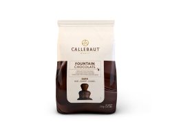 Pure chocolade callets chocofontein 57,6% cacao, zak 2,5 kg