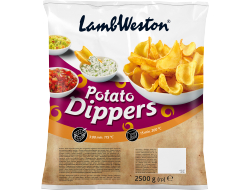 Potato dippers zak 2,5 kilo
