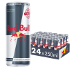 Red Bull Energy drink zero single 25 cl per blik, tray 24 blikken