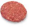 Meatstreet Exclusive Runderhamburger Black Angus, portie 80 gr