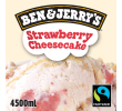 Ben & Jerry's Strawberry cheesecake, bak 4,5 ltr