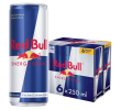 Red Bull Energy drink 6-pack 25 cl per blik, tray 24 blikken