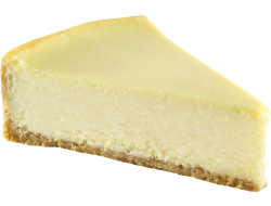 Cheesecake New York voorgesneden in 16 punten, tray 1,93 kg