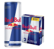 Red Bull Energy drink 2-pack 25 cl per blik, tray 24 blikken