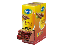 Curry ketchup 20 ml per sachet, doos 150 sachets
