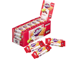 Fruitbiscuits naturel 3 stuks per folie, pak 24 folie